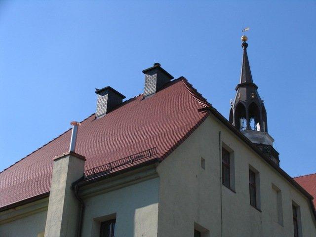 Wyremontowany dach został solidnie ocieplony